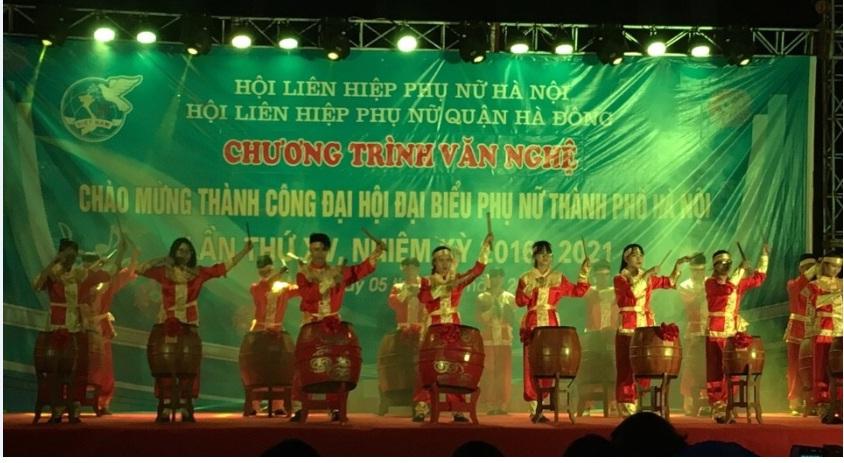 Chương trình văn nghệ chào mừng thành công Đại hội đại biểu phụ nữ Thành phố Hà Nội lần thứ XV, nhiệm kỳ 2016-2021