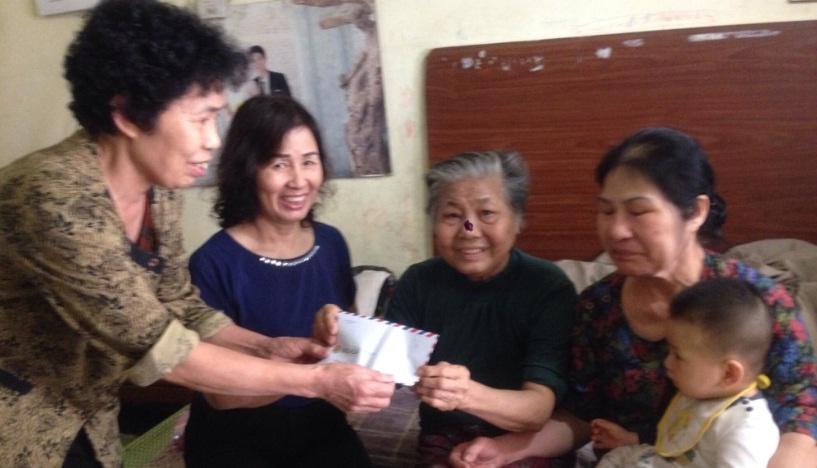 Chi hội phụ nữ TDP 7 phường Yết Kiêu vận động giúp đỡ gia đình hội viên mắc bệnh hiểm nghèo