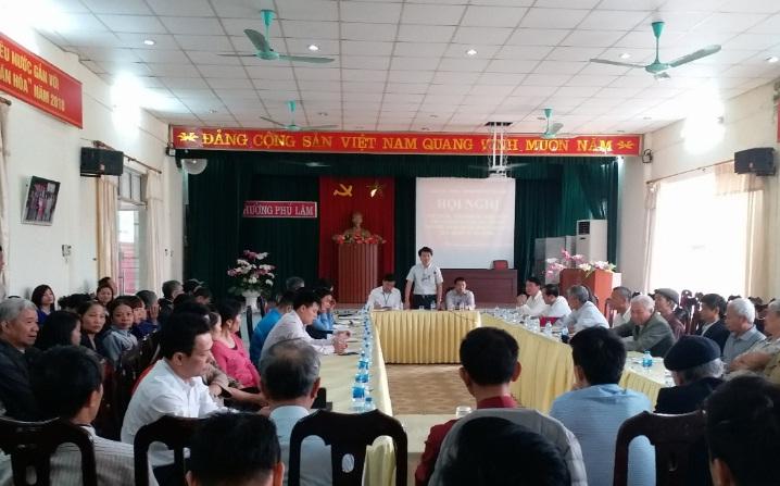 Hội LHPN phường Phú Lãm tham gia đối thoại  trực tiếp với lãnh đạo phường về Đề án 02 của Quận ủy Hà Đông