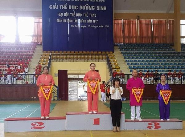CLB Dưỡng sinh Hà Cầu tham gia Đại hội TDTT quận Hà Đông lần thứ VIII