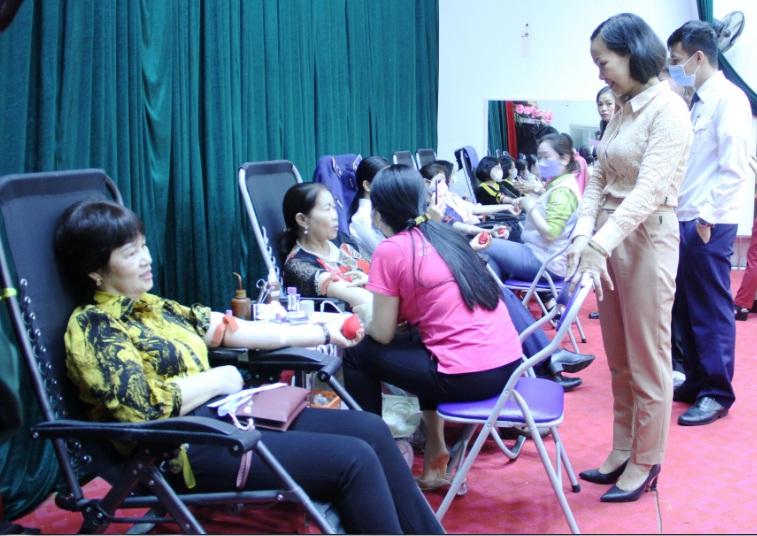 Thu trên 140 đơn vị máu từ Ngày hội hiến máu tình nguyện