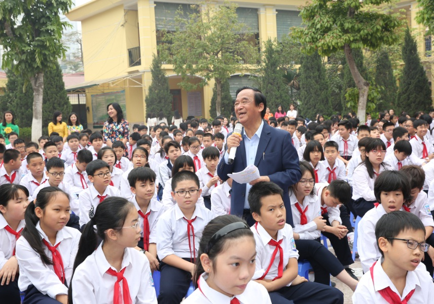 Tọa đàm giáo dục giới tính, phòng chống xâm hại tình dục tại Trường THCS Văn Khê