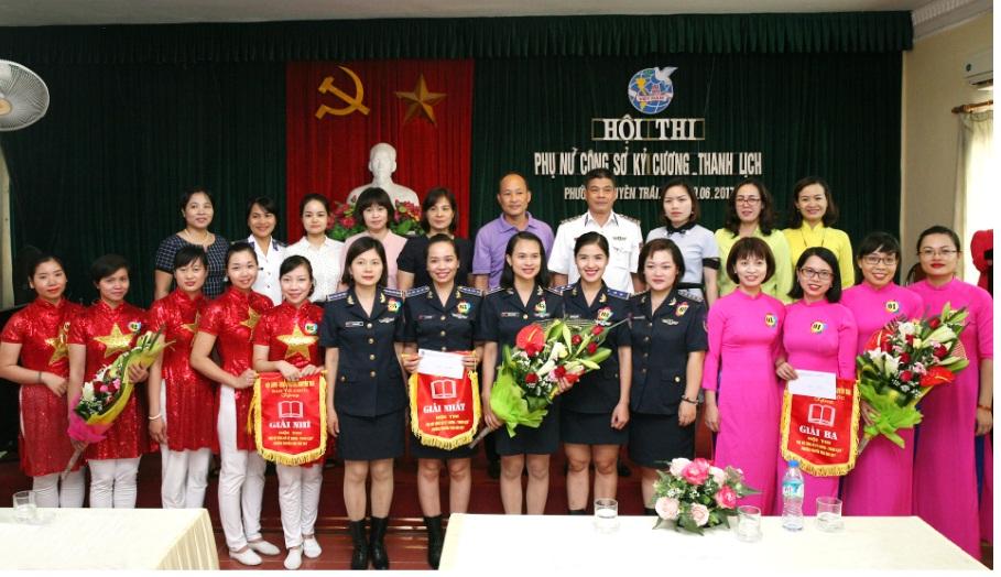 Hội thi Phụ nữ công sở kỷ cương – thanh lịch phường Nguyễn Trãi năm 2017