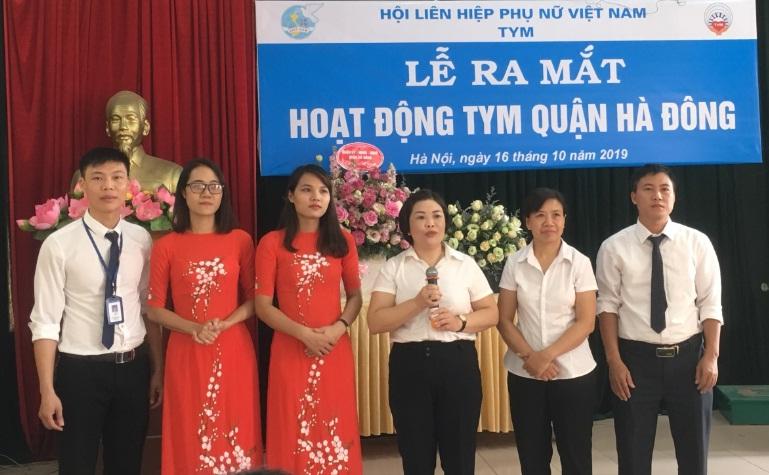 Ra mắt hoạt động TYM quận Hà Đông