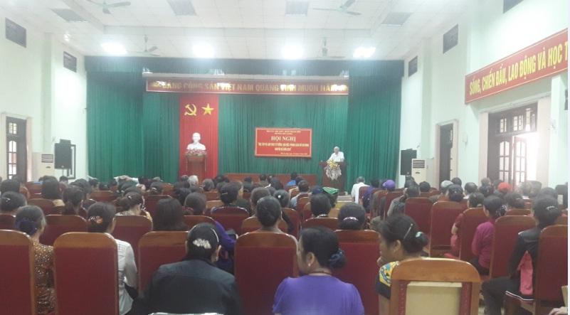 Hoạt động phối hợp giữa Hội LHPN, Đoàn Thanh niên và Hội CCB phường tổ chức học tập và làm theo tư tưởng, đạo đức, phong cách Hồ Chí Minh chuyên đề năm 2018