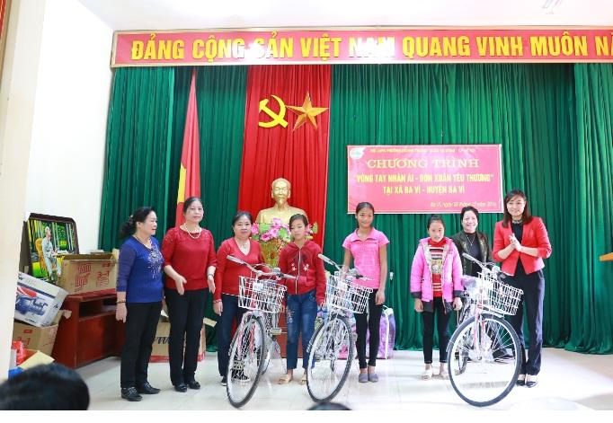 Hội LHPN phường Quang Trung tổ chức chương trình Vòng tay nhân ái – Đón xuân yêu thương