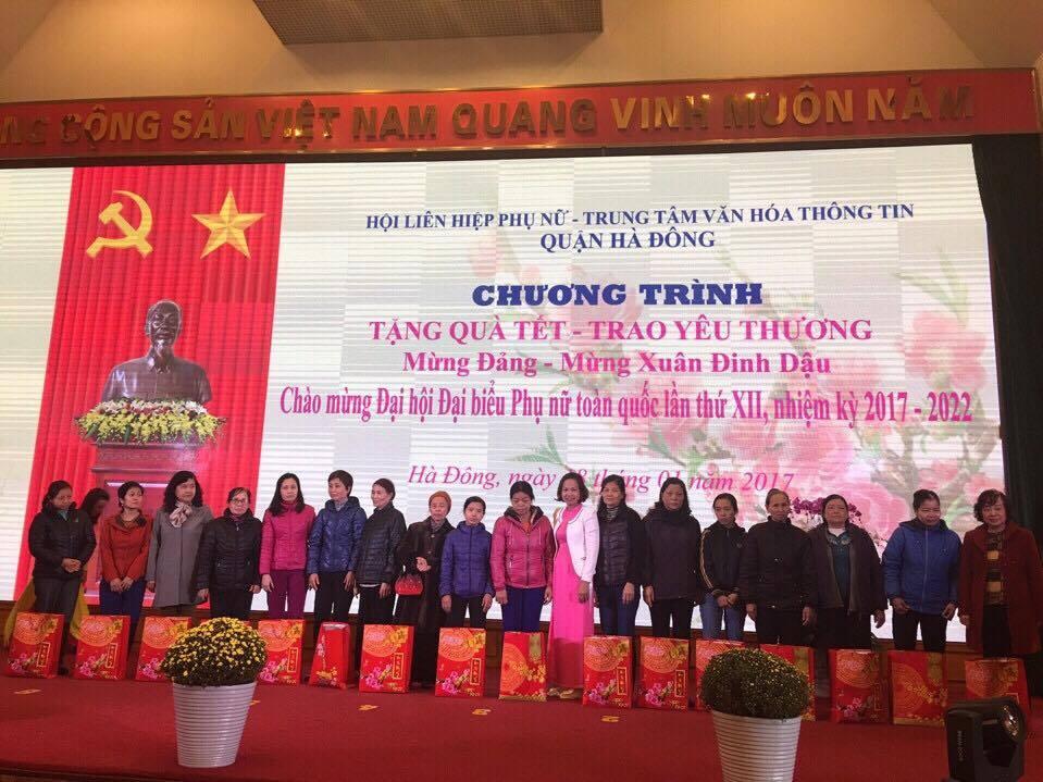 Mừng Đảng, Mừng Xuân Đinh Dậu năm 2017 và chào mừng Đại hội đại biểu phụ nữ Toàn quốc lần thứ XII
