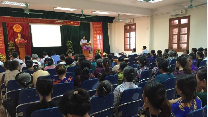 Hội nghị trợ giúp pháp lý tại phường Yên Nghĩa