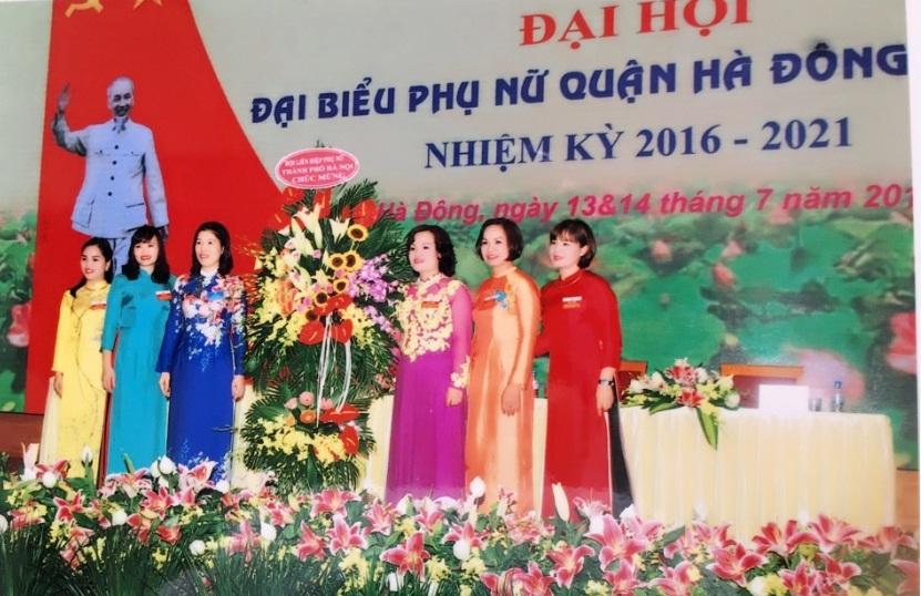Đại hội đại biểu phụ nữ quận Hà Đông lần thứ XX, nhiệm kỳ 2016-2021