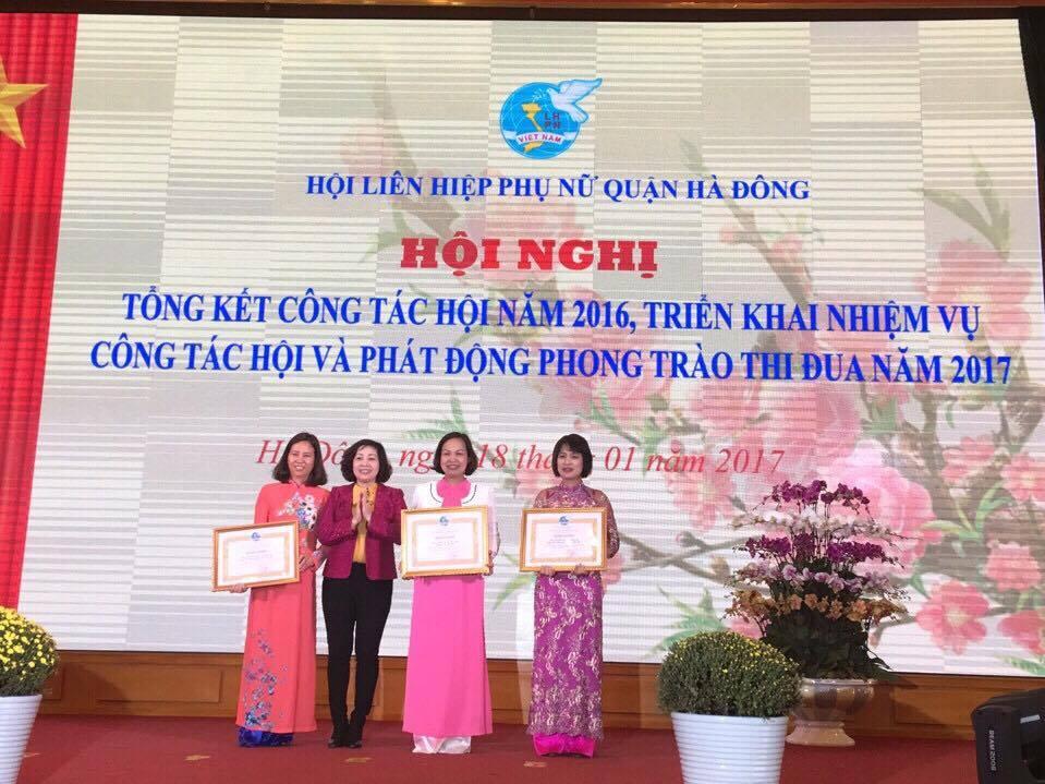 Hội LHPN quận Hà Đông tổ chức hội nghị triển khai nhiệm vụ công tác hội, phát động phong trào thi đua năm 2017