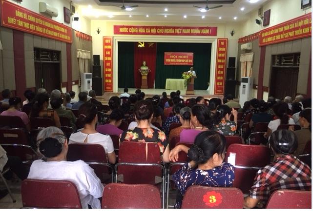 Hội LHPN phường Dương Nội tuyên truyền phổ biến và tư vấn pháp luật năm 2019