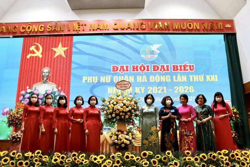 Đại hội Đại biểu Phụ nữ quận Hà Đông lần thứ XXI, nhiệm kỳ 2021-2026: Tin tưởng một nhiệm kỳ phát huy khả năng phụ nữ trên mọi lĩnh vực