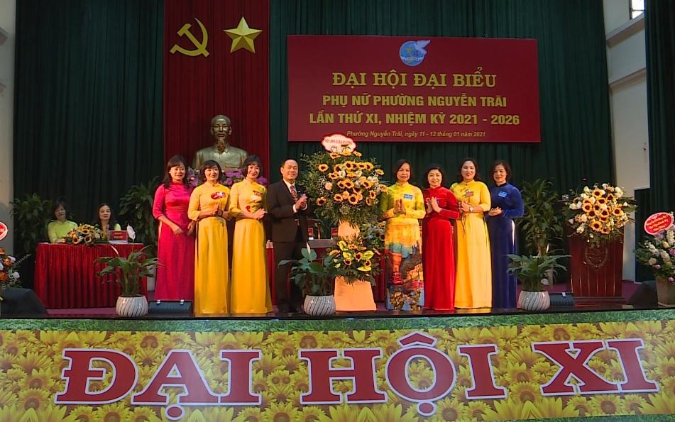 Đại hội đại biểu Hội liên hiệp Phụ nữ phường Nguyễn Trãi lần thứ XI, nhiệm kỳ 2021-2026