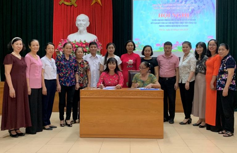 Hội LHPN phường Phú La sinh hoạt quý 3 gắn với tuyên truyền 50 năm thực hiện Di chúc của Chủ tịch Hồ Chí Minh